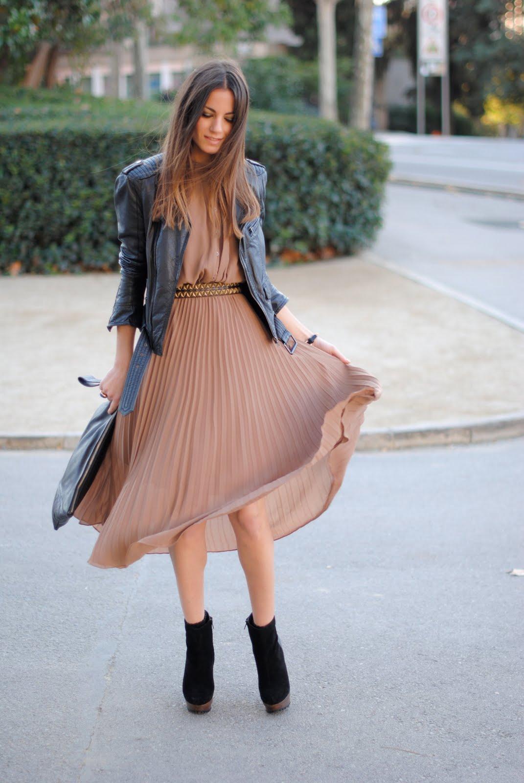 Модные тренды платье с курткой