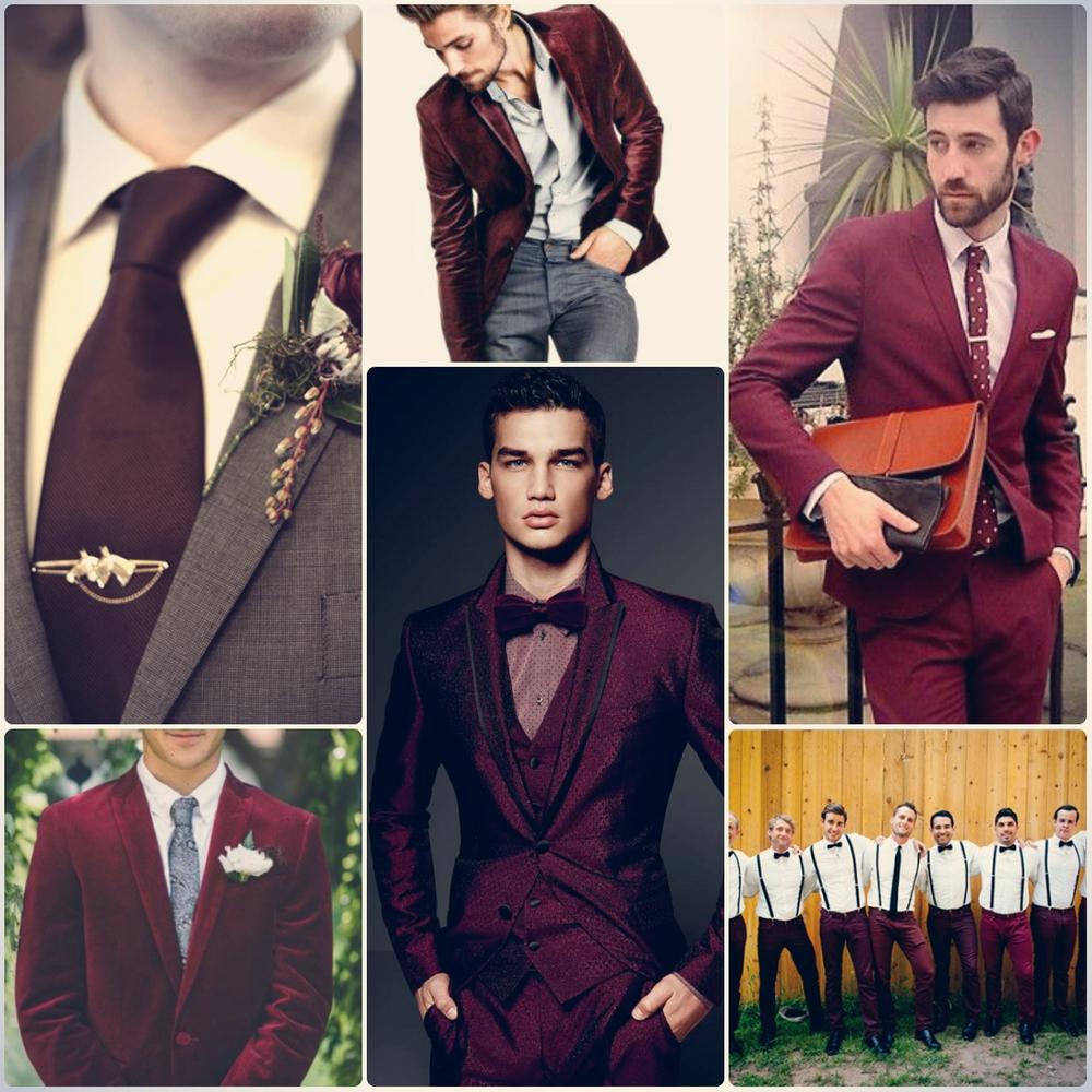 Модные тренды бордовый оттенок