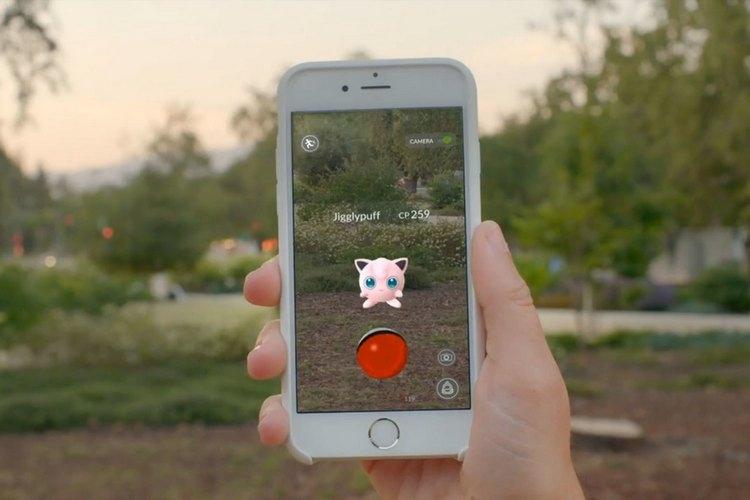 pokemon go технология реальности