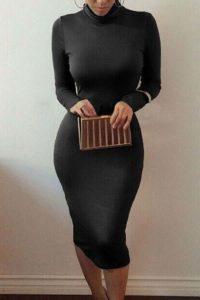 Черное платье для девушки