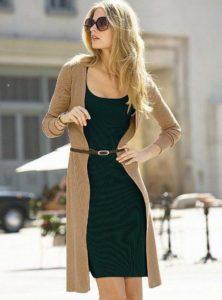 Кардиган и гардероб для девушки