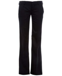 Гардероб для девушек черный брюки