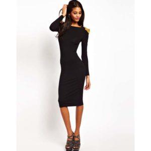 Гардероб для девушки черное платье